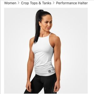 Better bodies halter style workout top